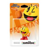 Amiibo Pac-man Super Smash Bros New Nintendo 3ds E Wii U