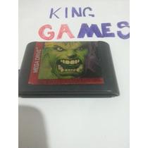 Fita Cartucho De Mega Drive Hulk Original !!!