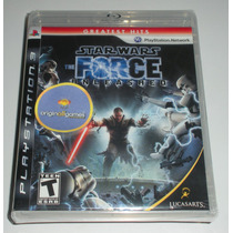 Star Wars The Force Unleashed | Luta | Tiro | Ps3 | Original