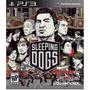 Sleeping Dogs Ps3, Midia Física, Em Portugues, Lacrado