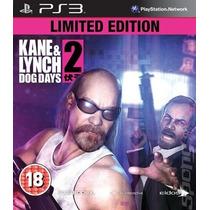 Jogo Kane & Lynch 2 Dog Days Ps3 - Usado