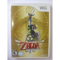 Zelda Skyward Sword Nintendo Wii Original Novo Lacrado