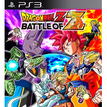 Dragon Ball Z Battle Of Z Ps3 Codigo Psn Game