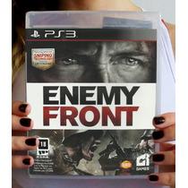 Enemy Front - Ps3. Lacrado De Fábrica. Pronta Entrega.