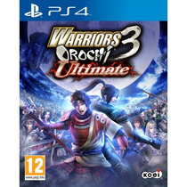 Jogo Warriors 3 Orochi Ultimate Ps4 Midia Fisica Lancamento