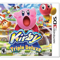 Kirby Triple Deluxe - Nintendo 3ds Pronta Entrega E-sedex
