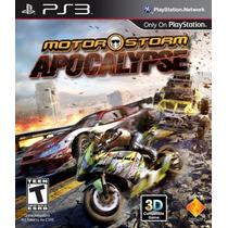 Jogo Motor Storm Apocalypse Novo - Ps3 Midia Fisica