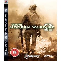 Call Of Duty Modern Warfar 2 Ps3- Mw2 Mega Promoção