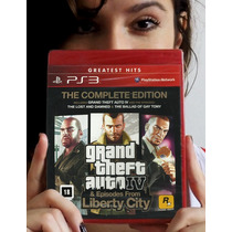 Gta Iv + Episodes From L.c - Ps3. Lacrado. Pronta Entrega.