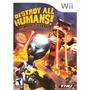 Destroy All Humans! Big Willy Unleashed Wii Semi Nov