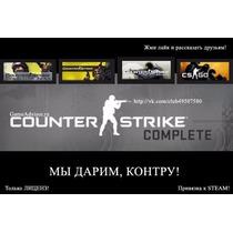 Counter Strike Global + Cs 1.6 + Cs Source - Pc Original.