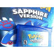 4 Jogos Pokémon Gba: Sapphire Leafgreen Emerald Firered
