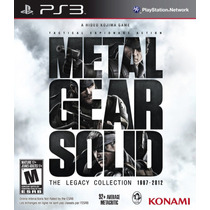 Jogo Metal Gear Solid: The Legacy Collection Playstation 3