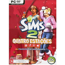 Game Pc Lacrado The Sims 2 Quatro Estaçoes