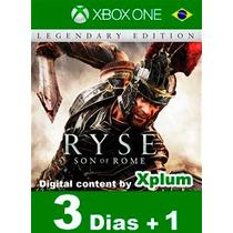 Aluguel Ryse: Son Of Rome Xbox One Br Digital - 3 Dias