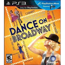 Promocao De Jogos!!! Dance On Broadway Para Ps3!!!