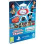 Psvita Mega Pack Disney 6jogos Mickey+cars+toy+up+ Cartão 8g
