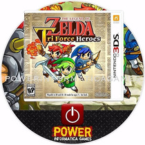 The Legend Of Zelda Tri Force Heroes 2ds 3ds New 3ds Lacrado