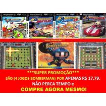 Bomberman Para Playstation 2 (kit 4 Jogos Ps2 Infantil