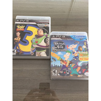 Jogo Infantil Para Ps3 Toy Story 3 E Phineas And Ferb Disney