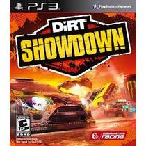 Ps3 - Dirt Showdown - Míd Fís - Lacrado - Original