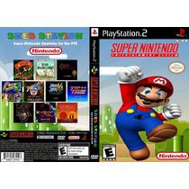 Super Colecão 780 Jogos Snes + Mario Collection Para Play-2