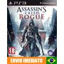 Assassins Creed Rogue - Ps3 - Código Psn - Promoção !!
