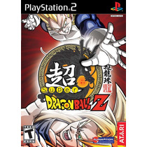 Patch Super Dragon Ball Z Ps2 E Mais 21 Brndes Português