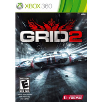 Grid 2 Xbox 360 Original Mídia Física