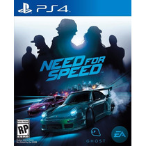Need For Speed Para Playstation 4 Pre Lacrado Lançamento