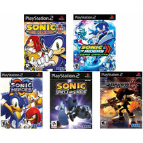 Patches Sonic (kit De 5) Heroes, Unleashed, Shadow, Riders