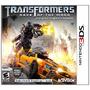 Jogo Novo Transformers Dark Of The Moon Para Nintendo 3ds