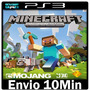 Minecraft Ps3 Play3 Psn ** Jogo Midia Digital --> Portugu