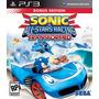 Sonic & Sega All Star Racing Transformed Ps3 Mídia Física
