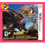 Monster Hunter 4 Ultimate Nintendo 3ds Novo! Pronta Entrega!