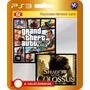 Gta V + Shadow Of The Colossus! (código Ps3) 2 Jogos 1 Preço