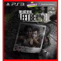 Dlc Left Behind Ps3 Psn - The Last Of Us Dublado