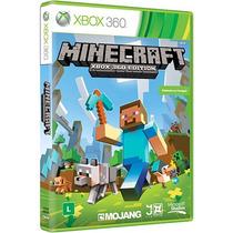 Minecraft Xbox 360 Original Lacrado Português