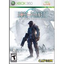 Lost Planet Xbox 360 Impecável, Sem Riscos, Original