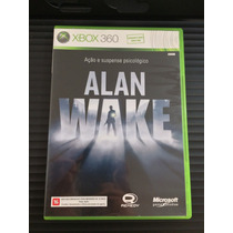Alan Wake Xbox 360 Impecável