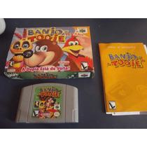 Banjo Tooie Completo Original Para Nintendo 64