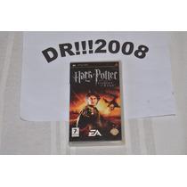 Harry Potter Goblet Of Fire Original E Completo Para Psp!!!