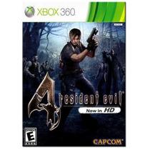 Resident Evil 4 Hd. ! Jogos Xbox 360