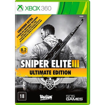 Sniper Elite Iii - Ultimate Edition - Xbox 360