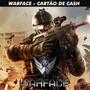 Warface - War Cash 107.500 Cash - Level Up - Envio Imediato!