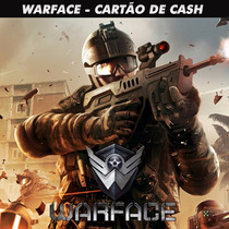 Warface - War Cash 41.700 Cash - Level Up - Envio Imediato!