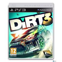 Dirt 3 - Jogo Ps3 - Corrida - Playstation 3 - Em Disco