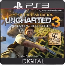 Uncharted 3 Drakes Deception Ps3 Psn Dublado Br