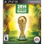Jogo Copa Do Mundo Da Fifa Brasil 2014 Ps3 Midia Fisica Nf