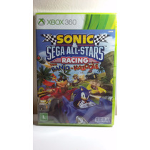 Game Sonic & Sega All-stars Racing C/ Banjo-kazooie-xbox 360